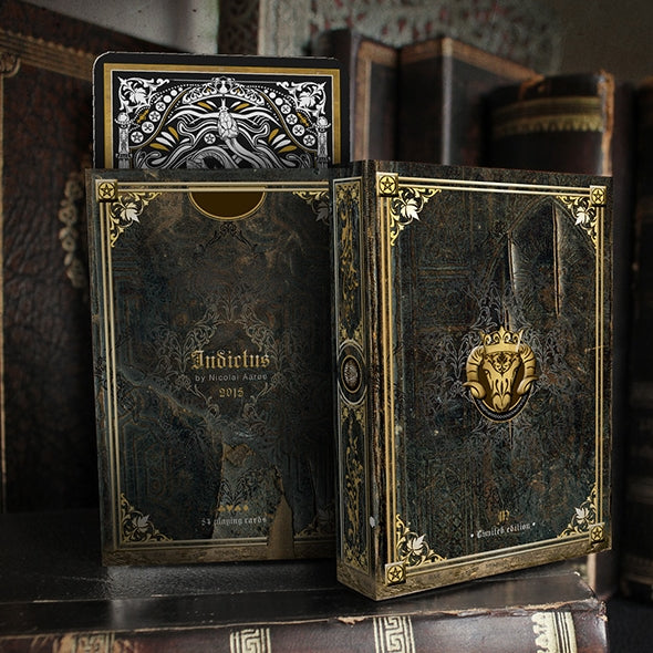 Indictus Antique Playing Cards Limited Edition Rare Set + Collectors Pouch
