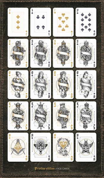 Indictus Pristine Playing Cards Limited Edition by Nicolai Aaroe Very Rare