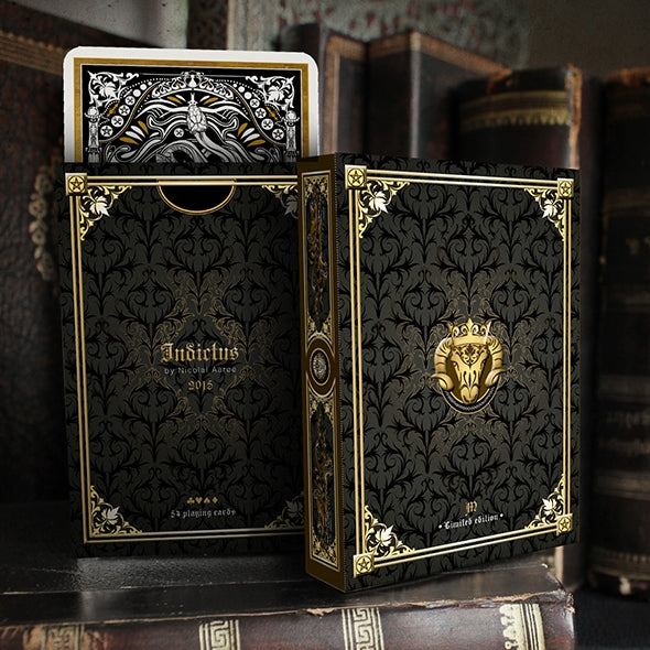 Indictus Pristine Playing Cards Limited Edition Rare Deck + Collectors Pouch