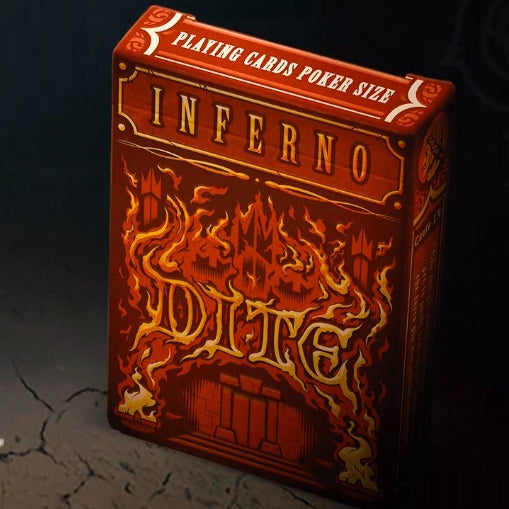 Inferno Playing Cards Dite Edition deck by Passione Italy