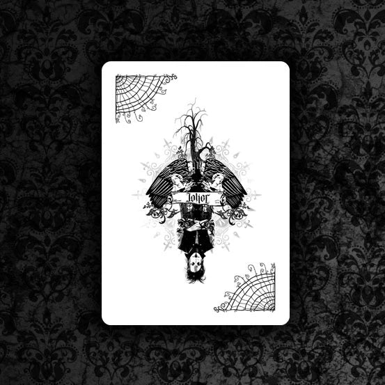 Inmortuorum Playing Cards Penta-Rabbit Edition by Illusionist Dan Sperry