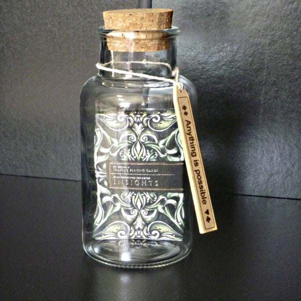 Insights Playing Cards by Seasons in a Glass Bottle Magic Collectors AIP