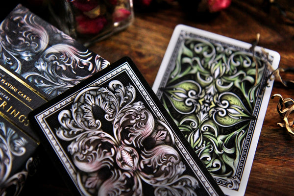 Insights Ponderings Playing Cards Rare Embossed 2 Decks Set