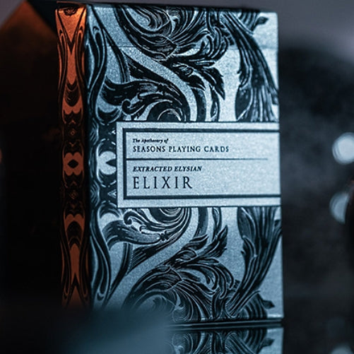 Intaglio Engraved Midnight Elixir Apothecary Playing Cards by Seasons