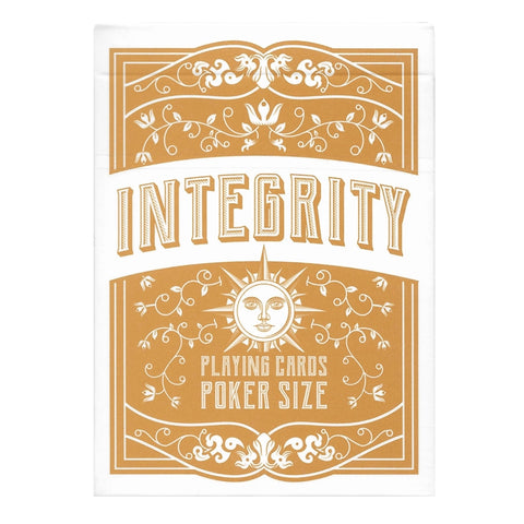 Integrity Playing Cards By Passione Italy Virtue deck