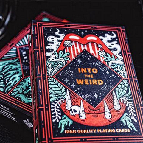 Into the Weird Playing Cards strange deck by Art of Play