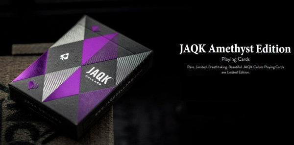 JAQK Amethyst Playing Cards 5th Edition Wine Deck California