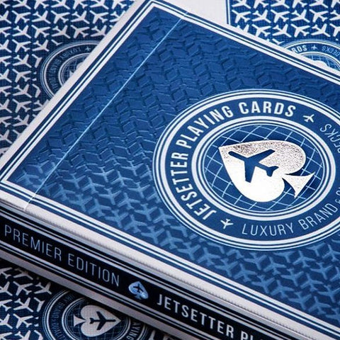 Jetsetter Altitude Blue Playing Cards Premier Edition Deck