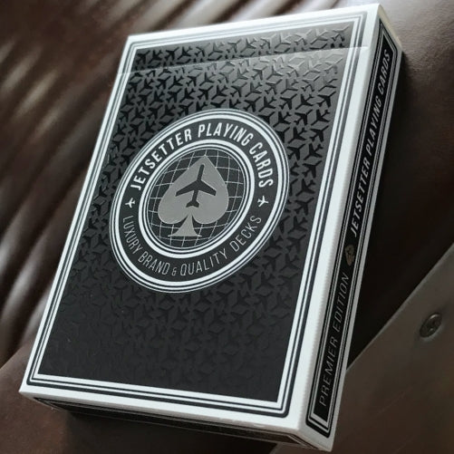 Jetsetter Playing Cards Black Premier Edition Private Reserve
