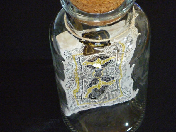 Jinni Playing Cards deck sealed in a Glass Bottle