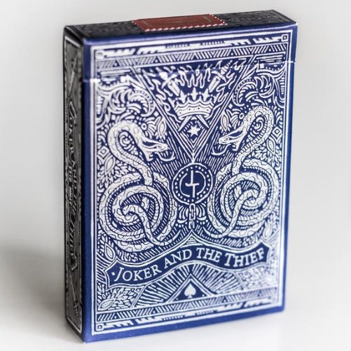 Joker and the Thief Playing Cards Midnight Blue Edition V2 Made in USA