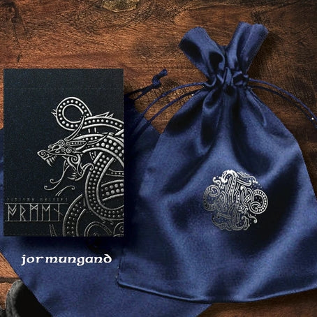 Ragnarok Playing Cards Jormungand Edition ~ Signed by Artist + Pouch