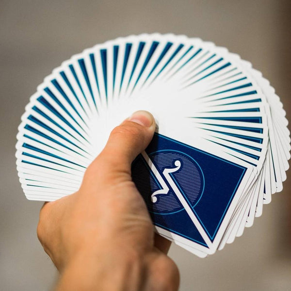 Juggler Playing Cards Minimalistic Deck Linoid Finish Designed in Spain