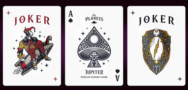 The Planets Jupiter Playing Cards Limited Edition Very Rare by Vanda
