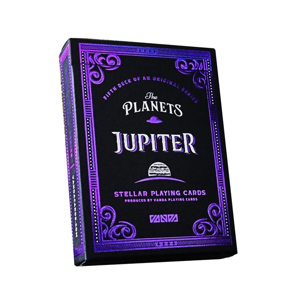 The Planets Jupiter Playing Cards Vanda Artist Series Holographic Foil