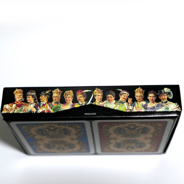 Kaiser Jubilaum Playing Cards Luxury Austrian Royalty by Piatnik 2-deck Set