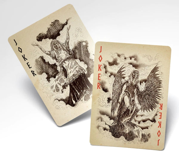 Kalevala Playing Cards Limited Edition Luxury Gold Gilded + 1 Booklet