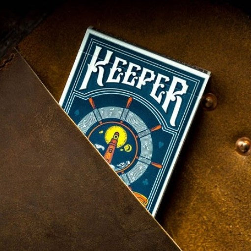 Keeper Playing Cards Ellusionist Lighthouse Deck Fisherman