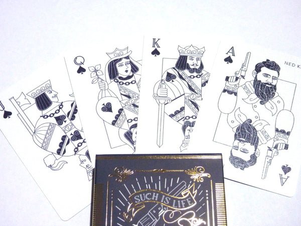 The Kelly Gang Playing Cards Australian LTD Edition Such is Life 2-Deck set