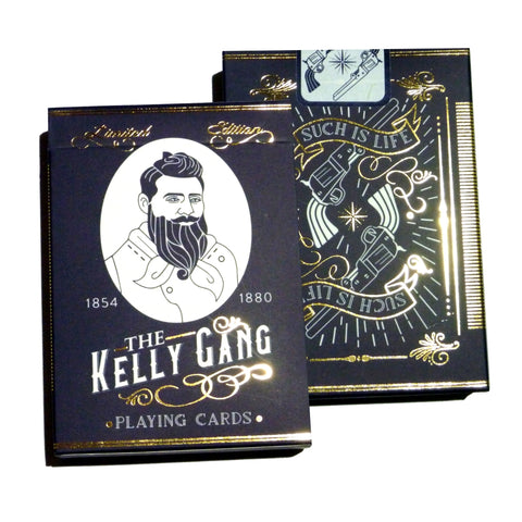 The Kelly Gang Playing Cards Australian Limited Edition Deck Such is Life