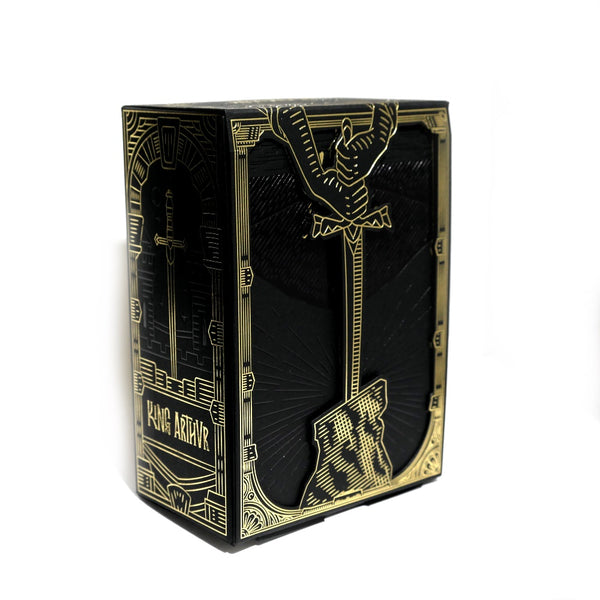 King Arthur Collectors Half Brick Box for Playing Cards Empty Hold 6-Decks