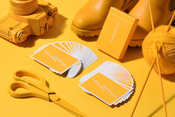 King Slayer Playing Cards Royal Mustard By Ellusionist
