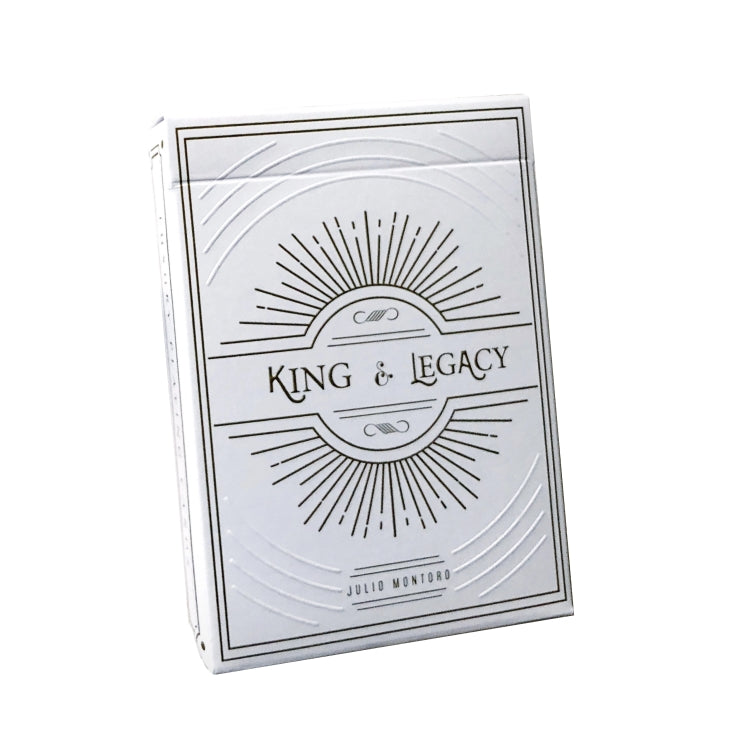 King and Legacy Playing Cards Gold Edition Marked Made in USA