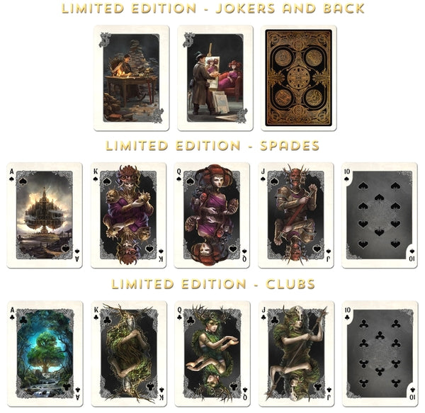 Kingdoms of a New World Playing Cards Limited Edition Very Rare