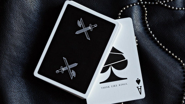 Buyworthy:Kings Playing Cards Black Edition Rare Poker Magic Deck Ellusionist Brand New