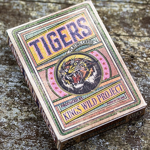 Tigers Playing Cards by Kings Wild Project made in USA