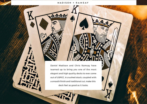 Buyworthy:Knights Playing Cards Madison Ramsay Ellusionist Deck Brand New Magic Poker Chess