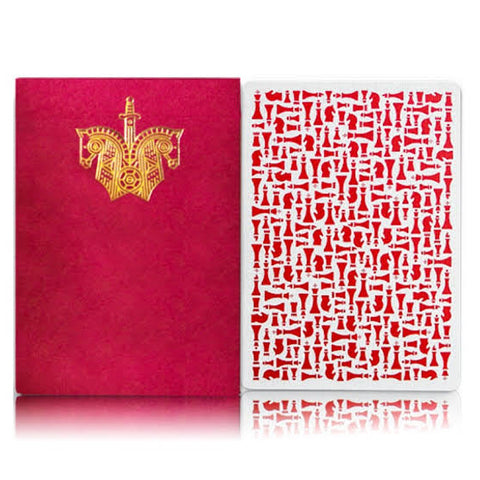 Red Knights Playing Cards by Ellusionist Magic Madison x Ramsey