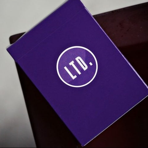 LTD Limited Edition Playing Cards Purple Ellusionist Deck
