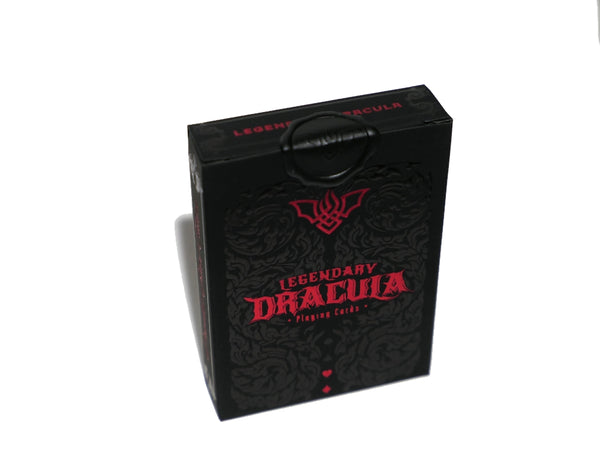 Legendary Dracula Playing Cards Rare Gilded & Signed by Cristian Pestritu