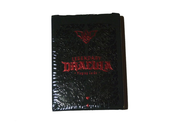 Legendary Dracula Playing Cards Rare Only 250 Printed Gold Gilded