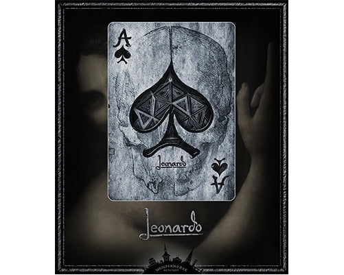 Leonardo Playing Cards Silver Luxury Deck 1st Edition