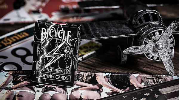 Lightning Bicycle Playing Cards by BOCOPO Made in USA