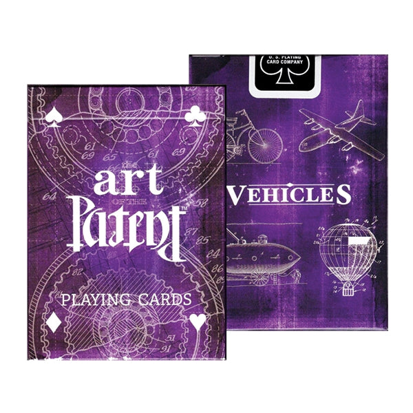 Art of the Patent Playing Cards Vehicle Limited Edition 200 years