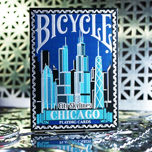 City Skylines Playing Cards Chicago Limited Edition Luxury Number Sealed deck