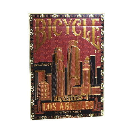 City Skylines Playing Cards Loss Angeles Limited Edition Luxury Number Sealed