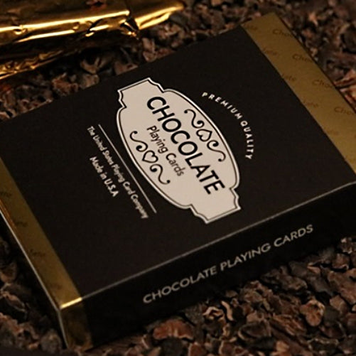 Chocolate Playing Cards Limited Edition Made in USA