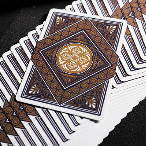 Theos Playing Cards Purple Limited Edition designed in Italy by Parama