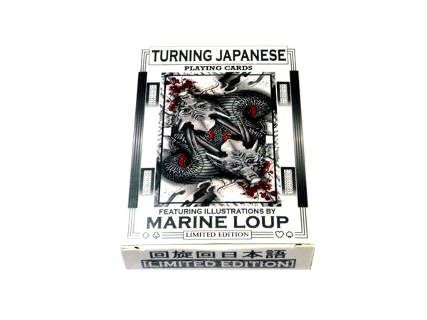 Turning Japanese Playing Cards Limited Edition Illustrated by Marine Loup