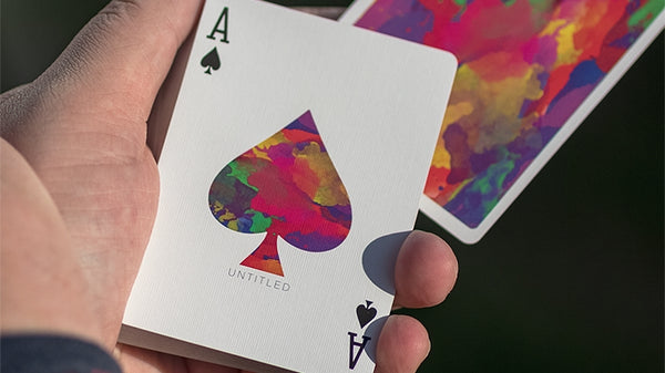 Untitled Playing Cards Limited Edition by Adam Borderline