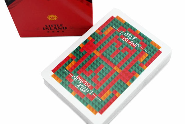 Little Island Playing Cards Limited Edition deck Shutter Island Maze