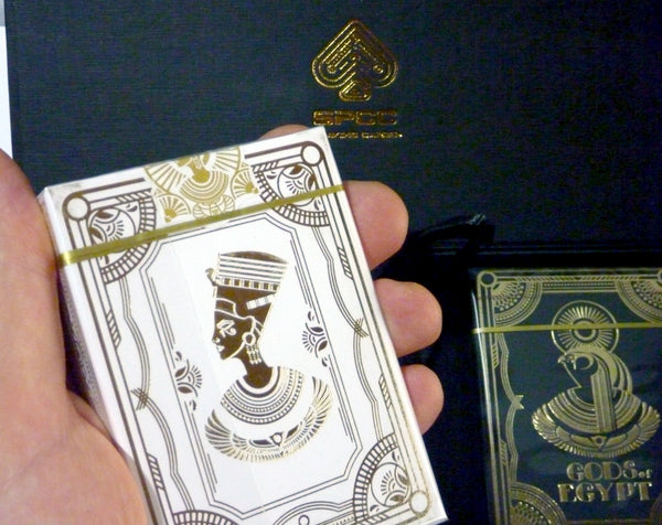 Lords and Gods of Egypt Playing Cards Collectors Rare 3-Deck Set
