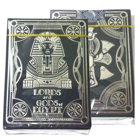 Lords and Gods of Egypt Playing Cards Sealed Edition Metallic Inks
