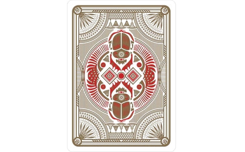 Lords of Egypt Playing Cards Sealed Edition Deck Metallic Inks
