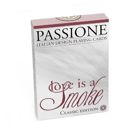 Love Is A Smoke Playing Cards Classic Edition Deck by Passione Italy