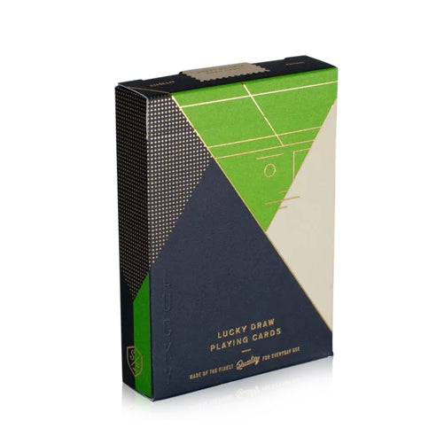 Lucky Draw Playing Cards Green Edition by Dan & Dave